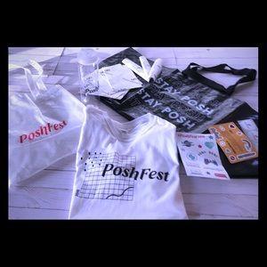 Poshmark Double Handle Tote & Poshfest 2019 Items